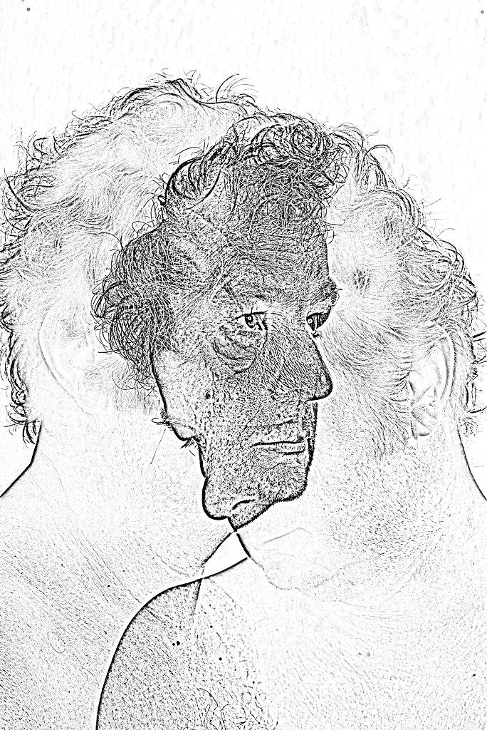 Autoportrait aux deux visages